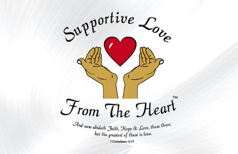 Supportive Love  logo design